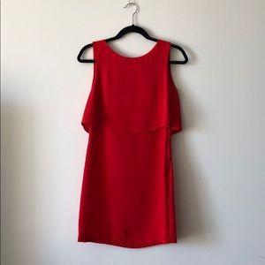 HM Red Sleeveless Dress